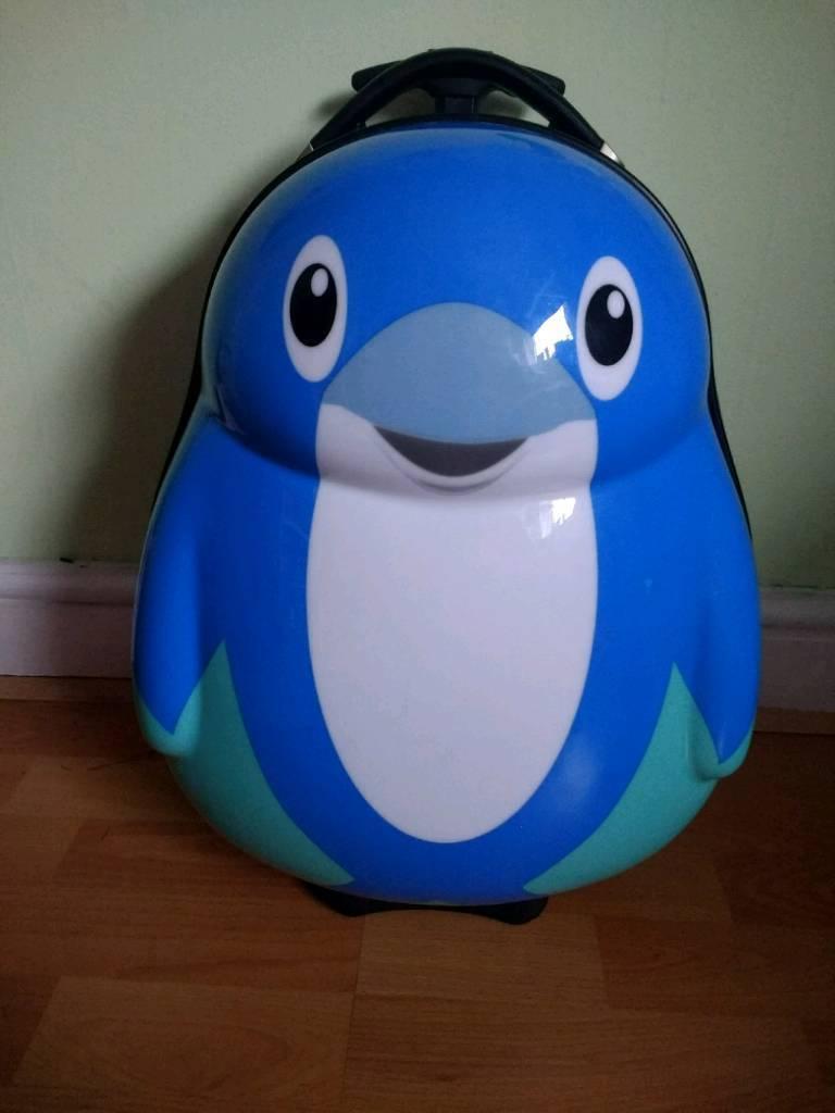 Penguin suitcase