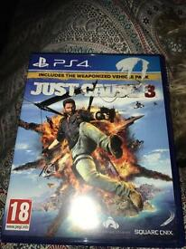 Just cause 3 PS4 £5 game