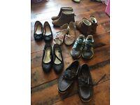 Footwear all £5 each (see details below)