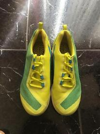 Yellow and Green Usain Bolt Style Trainers