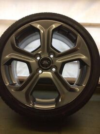 FORD FIESTA ST WHEELS - SET OF 4 WITH TYRES
