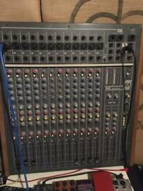 Allen and Heath Sr16 mixing desk with direct out mods