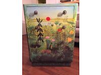 Henri Rousseau decoupage chest of drawers
