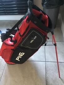 Latest ping hoofer stand bag