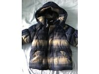 Boys 12-18 months winter jacket from miniclub