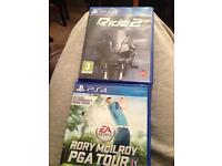 Ps4 games Rory McIlroy PGA Tour & Ride2