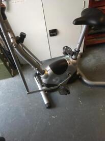 Exercise bike /cross trainer