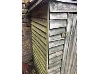 Garden store/ log shed