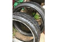 "Bridgestone Run Flat 19"" Tyres for BMW 3 Series"