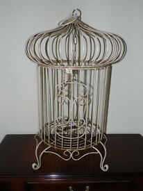 Vintage style bird cages