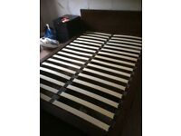 Solid double bed for sale