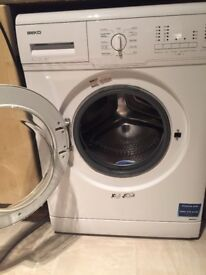 Beko washing machine, just over 1 yr inside small tear on rubber at door but doesn't effect machine