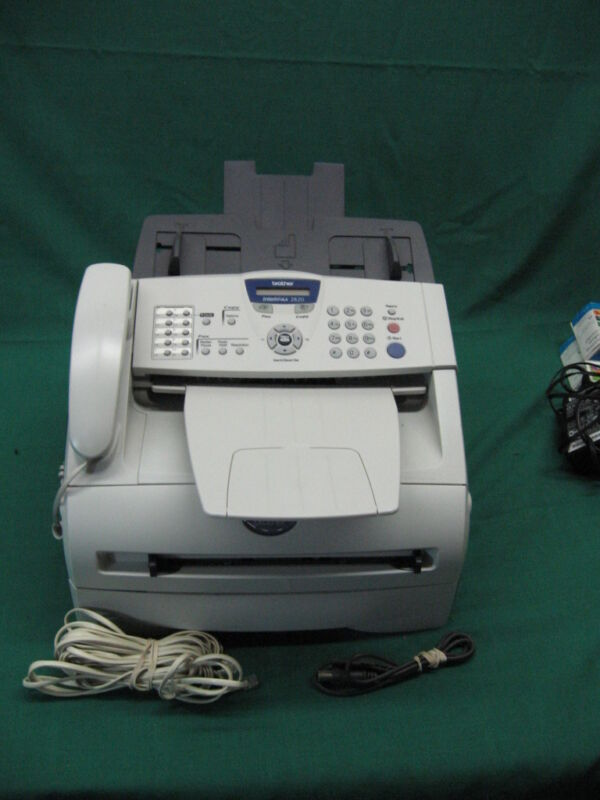 Brother IntelliFAX 2820 Fax Copier All-In-One Laser Printer Tested Guaranteed