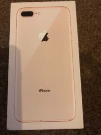 iPhone 8 plus! Mint condition unlocked GOLD