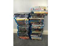 Blu Rays and DVDs for sale job lot