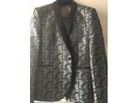 Men's floral blazer jacket. Size 46r