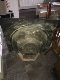 Fire place Cast Iron 980x980x300mm