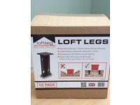 9 x Loft Leg 175mm Loft Legs (9 out of box of 12)