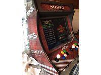 Neo Geo Arcade Cabinet
