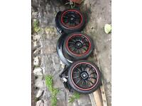 Mini 17 three wells good condition the tires are good black wiper motor motor