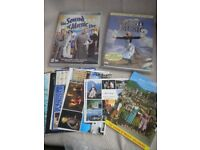 Sound of Music - 2 DVD's , original version and Sound of Music Live and extras