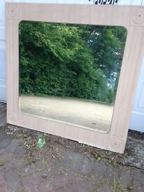 Large Mirrors suitable for Bathrooms or .....Frame can be painted to suit decor