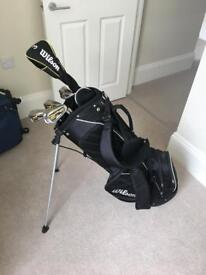 Wilson Bag and LCG ProStaff Golf Clubs - Great Condition