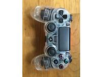 Playstation ps4 custom controller clear