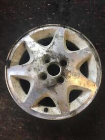Escort Rs turbo series 1 alloy wheel