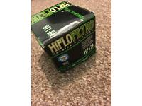 Hiflo HF138 oil filter for Suzuki Bandit (and others)