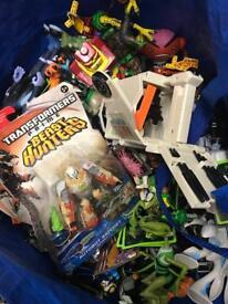 Job lot of Ben 10 toys