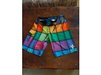 Hurley boardshorts swim shorts medium