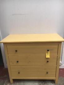 Solid Pine Chest of Drawers - CAN DELIVER