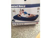 Bestway double air bed comfort Quest