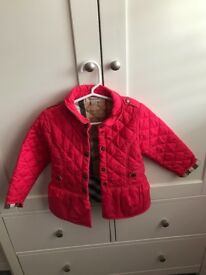 Burberry girls jackets