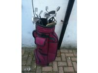 Golf Clubs with a Bag/Clubs