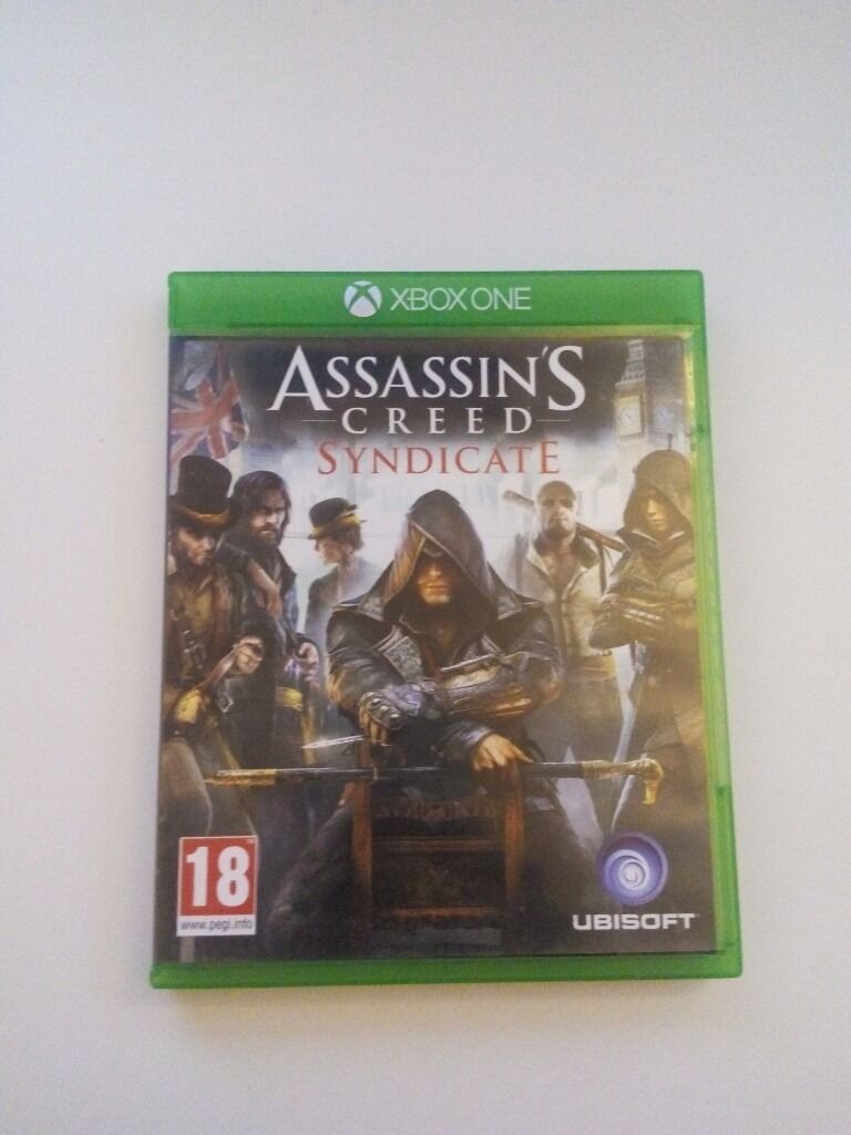 Assassins Creed Syndicate Microsoft Xbox Onein Manchester City Centre, ManchesterGumtree - Assassins Creed Syndicate Microsoft Xbox One 2015 provides the gamers with hours of fun and new experiences. Based on its content, this Ubisoft PAL video game belongs to the Action & Adventure genre. The Assassins Creed Syndicate is a valuable...