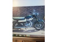 Francis Barnett falcon 1961 two stroke villiers VGC..tax and mot exempt