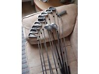 Golf Clubs - Irons, woods and putter. Great set for new or improvers