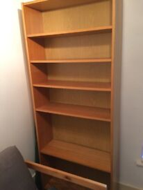 2 billy bookcases