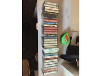 Bundle of tape cassettes