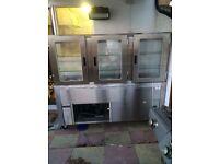 Display fridge for cold foods
