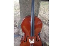 4/4 SIZE PALATINO CELLO MODEL P31-06VC-44 VERY GOOD CONDITION WITH SOFT CASE