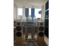 Speakers And Amp 5.1 System for sale
