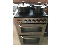 Zanussi Electrolux 50cm electric cooker and grill