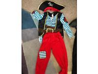 Pirate dress up fancy dress