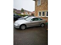2002 facelift Mercedes CLK 320, low milage, just MOT'd, triptronic Auto, gray leather interior VGC,