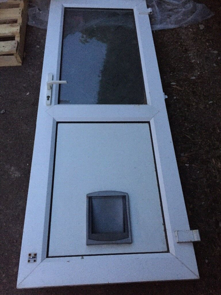 Patio Door With Cat Flap In Leicester Leicestershire Gumtree