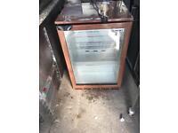 Used single door under counter fridge/bar fridge