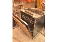 Neff integrated dishwashers